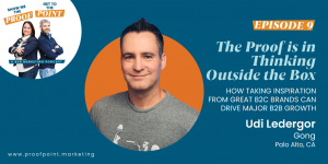 Ep. 9 Udi Ledergor – The Proof is in Thinking Outside the Box